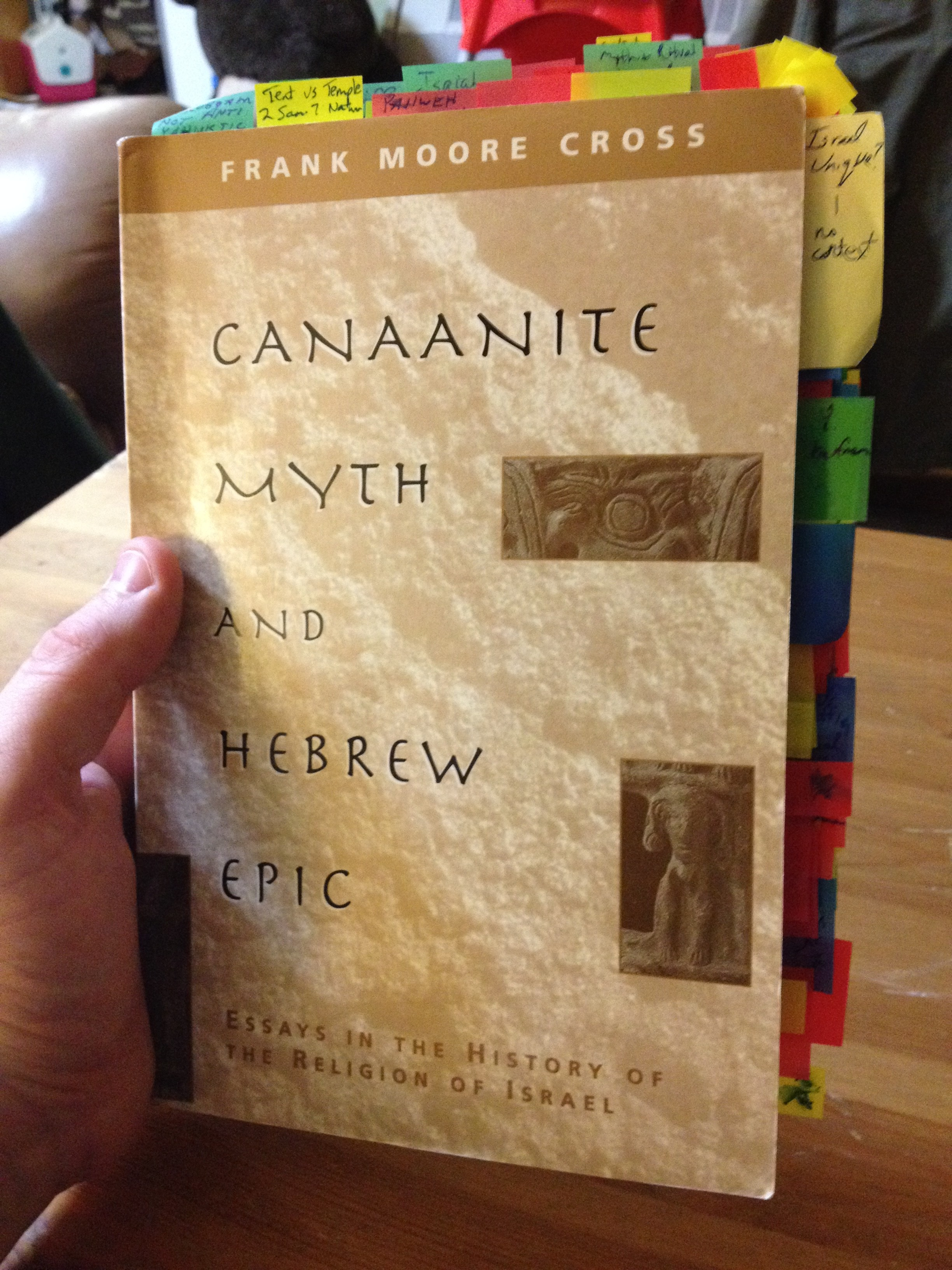 Canaanite Myth-Epic - Cross