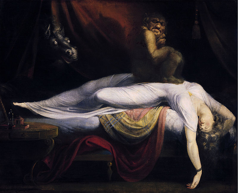 """John Henry Fuseli - The Nightmare"""
