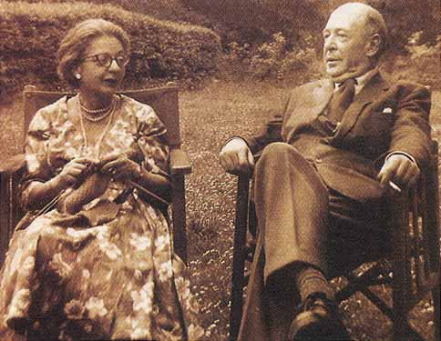 Lewis and his wife, Joy.